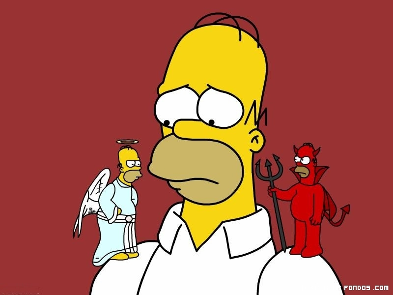 Resultado de imagen de angel o  demonio dibujo