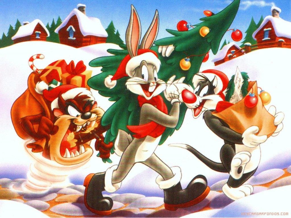 Dibujos Animados en Navidad