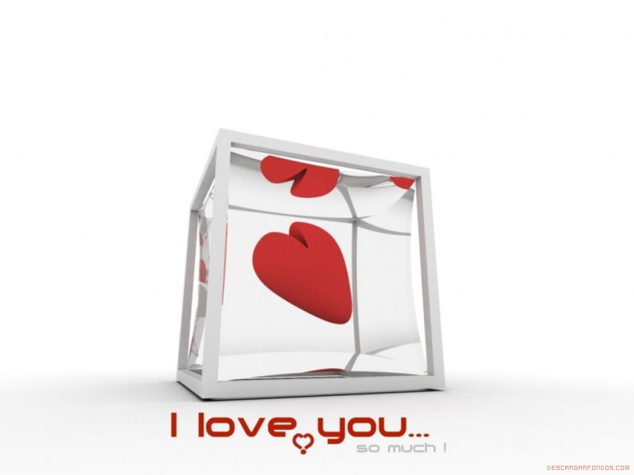 Corazón dentro de una caja