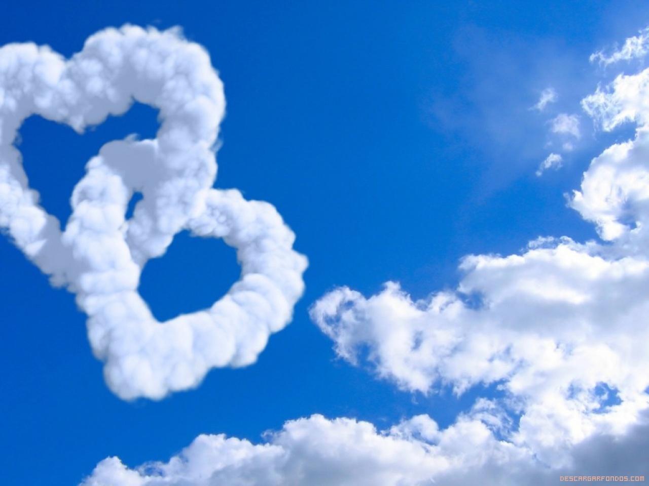 Corazones de nube