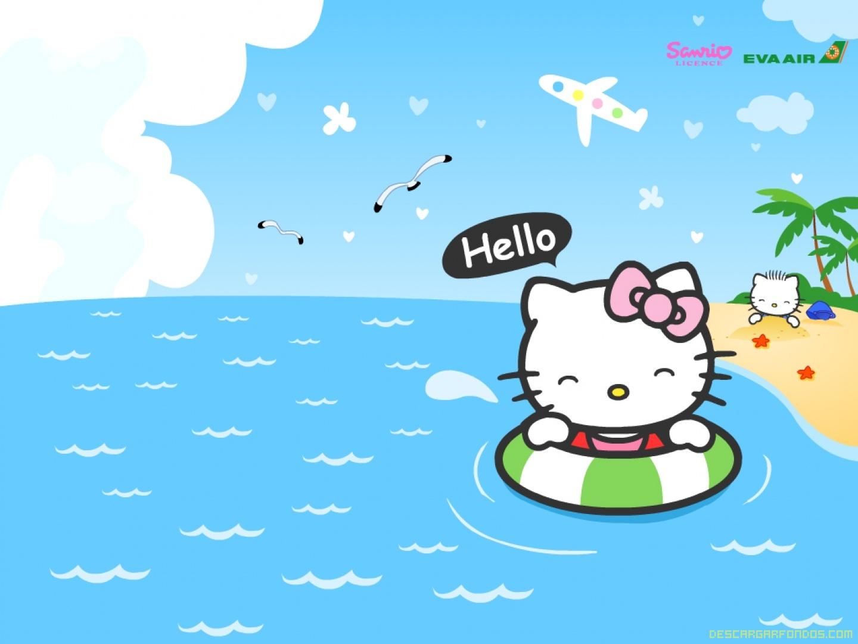 Día de playa para Hello Kity
