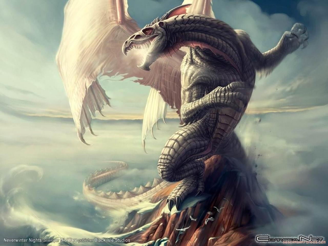 Dragón enfurecido