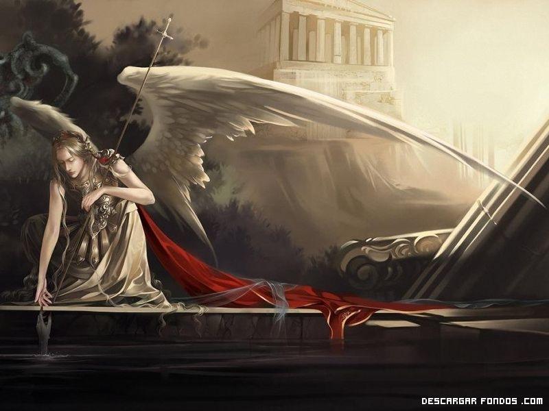 El guerrero ángel