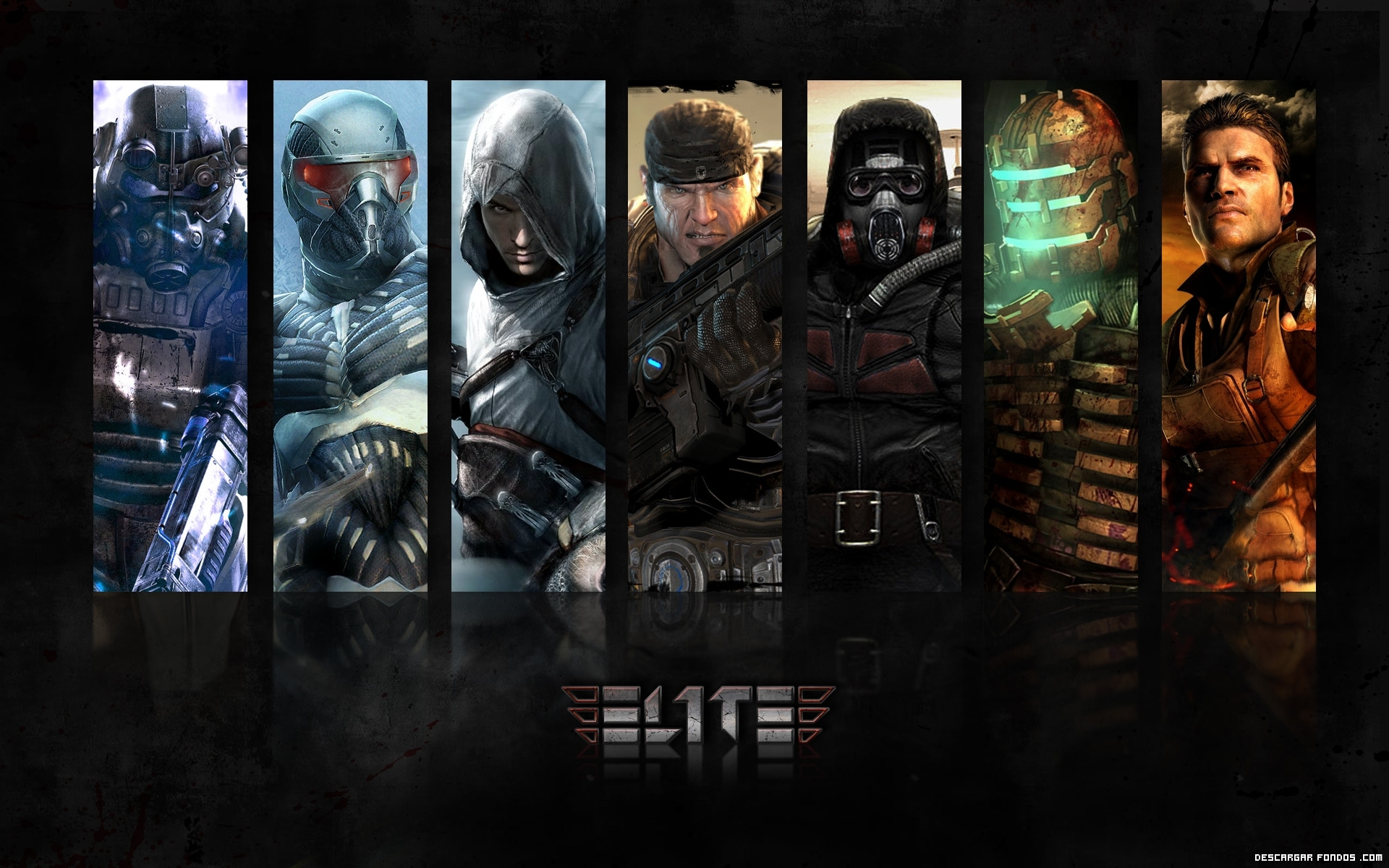 10 Most Popular Cool Gaming Wallpapers Hd 1920x1080 Full: Elite, El Juego Para PC