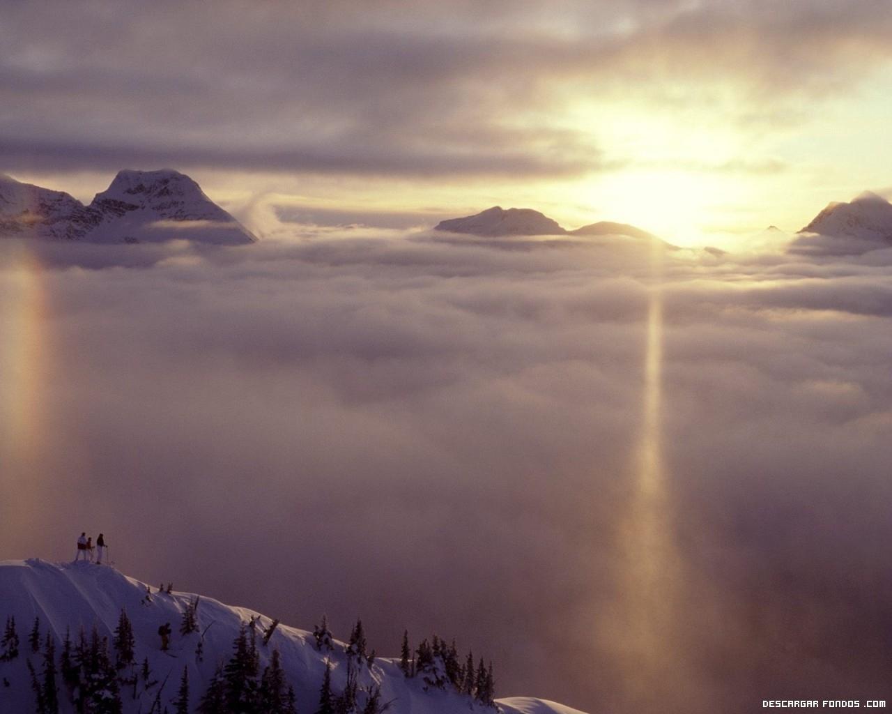 Entre las nubes