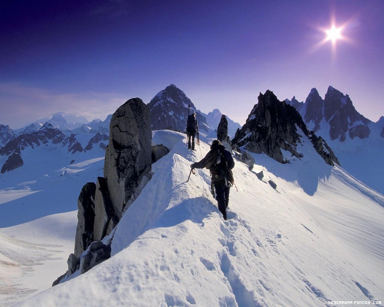 Atravesando montañas