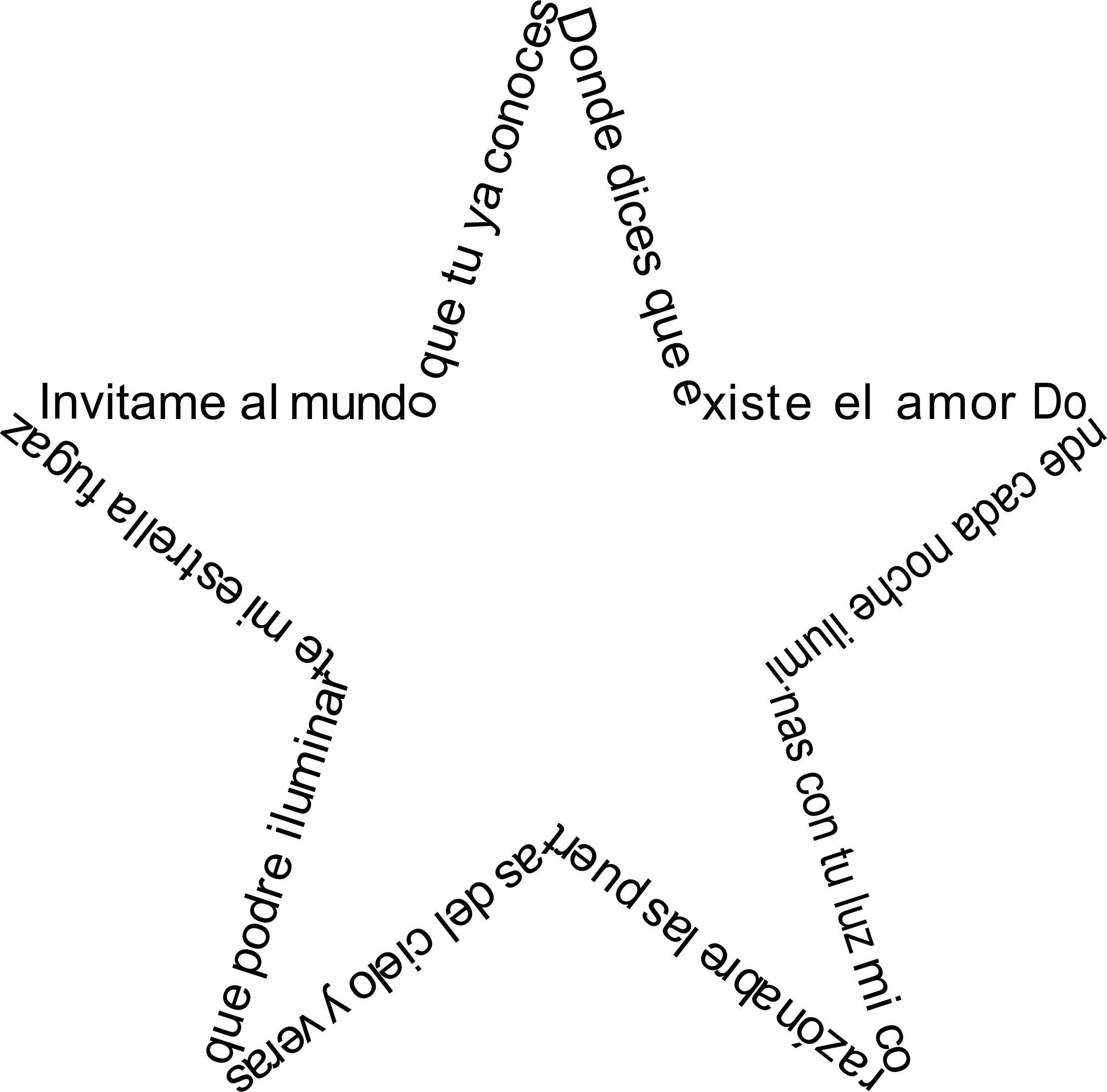 Estrella de poema