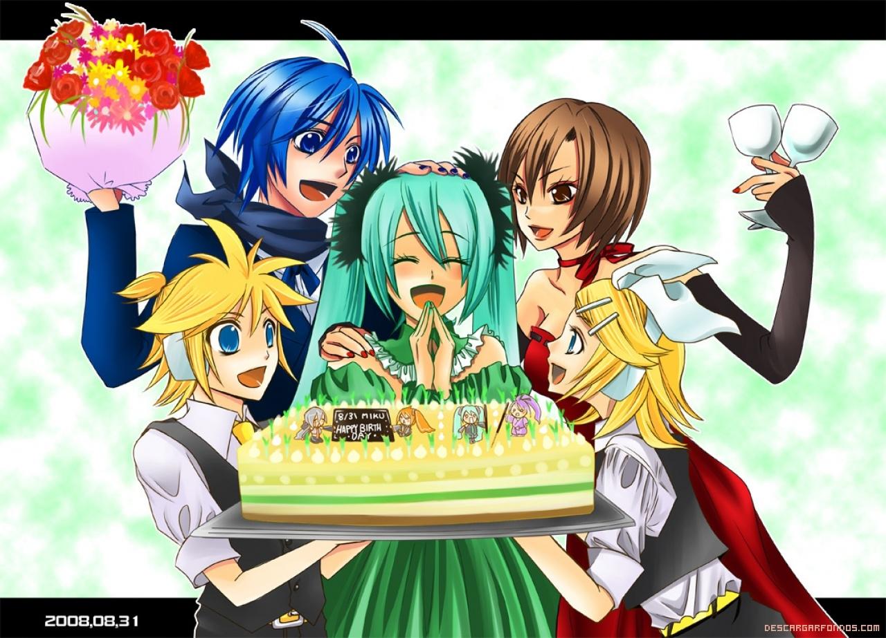 Cumpleaños anime