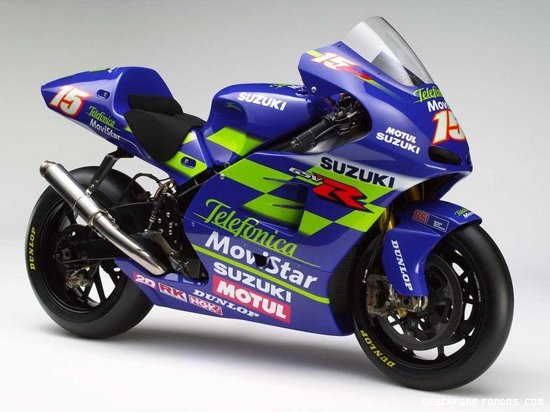 Fondo de moto Suzuki