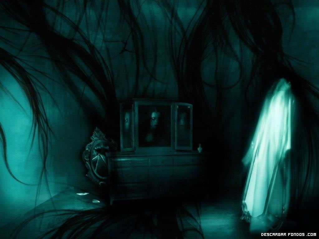 Fondo de un fantasma