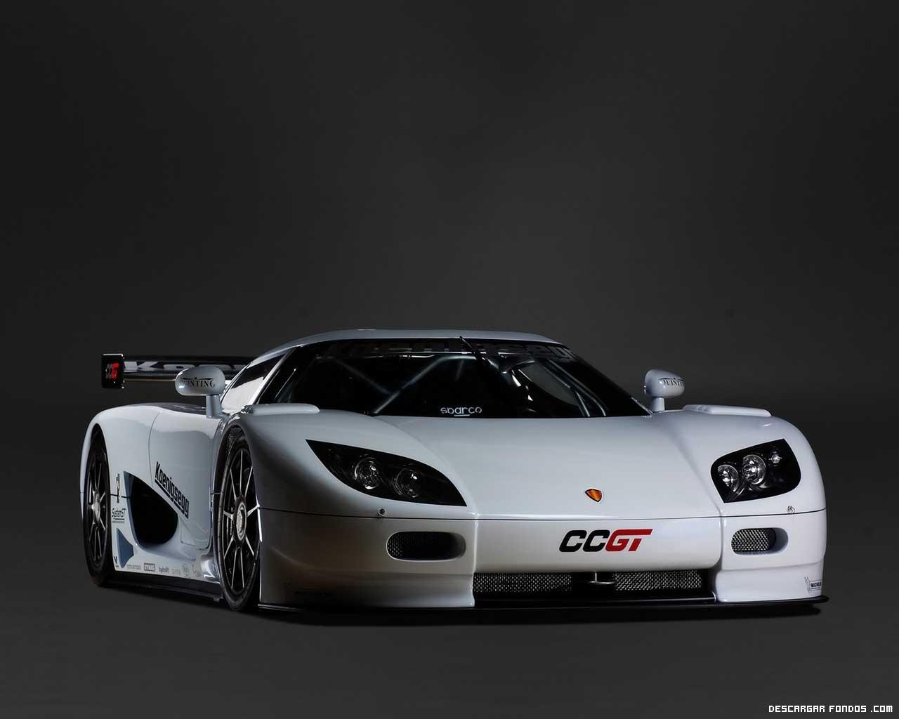 Fondos de un coche deportivo