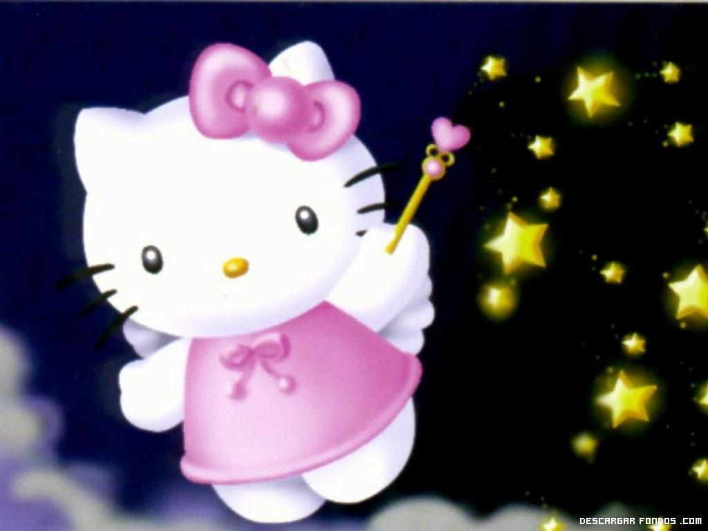 Hello Kitty y sus estrellas mágicas