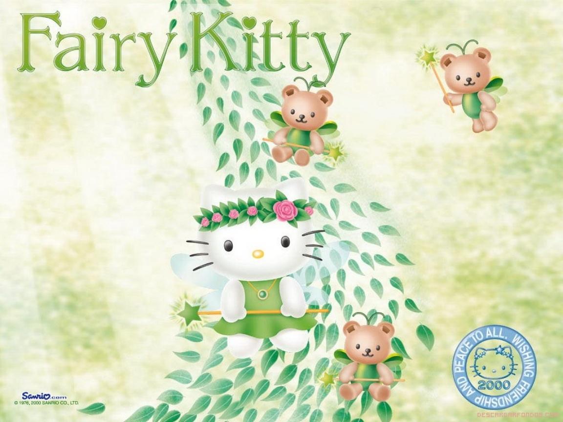 Hello Kitty convertida en hada