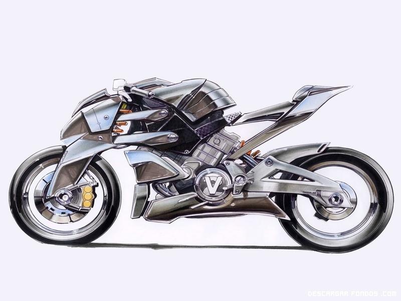 La motocicleta del futuro