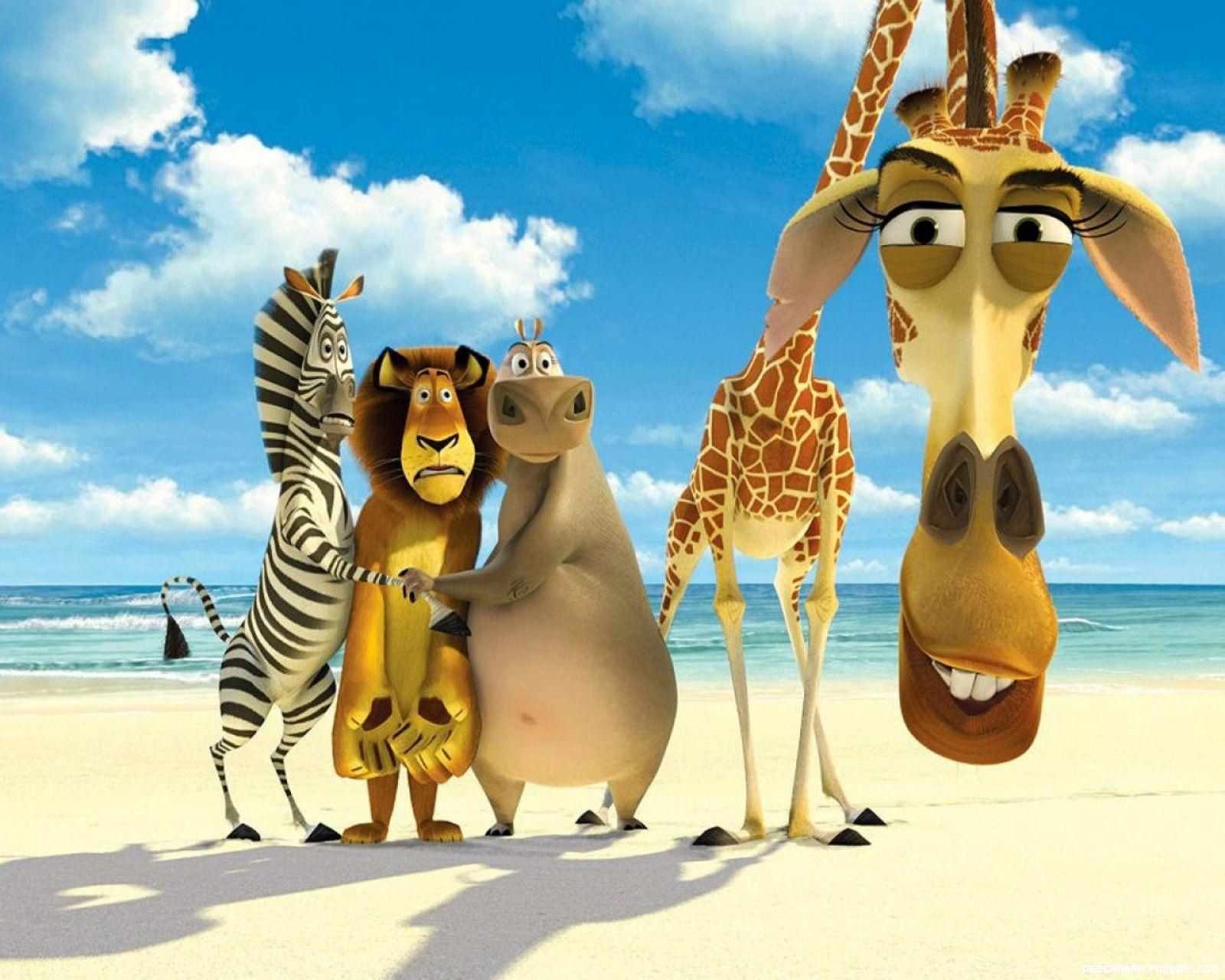 Los personajes de Madagascar