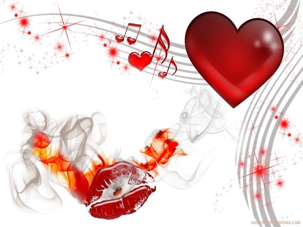 Notas musicales en tu corazón por San Valentín