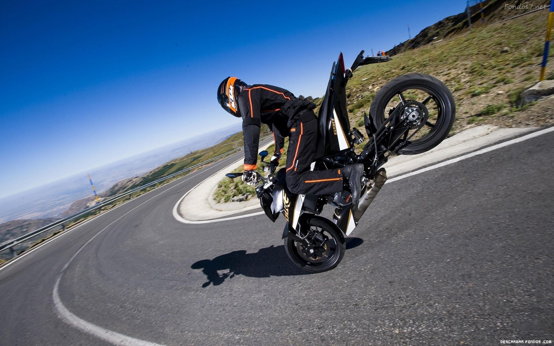 Trucos en la motocicleta