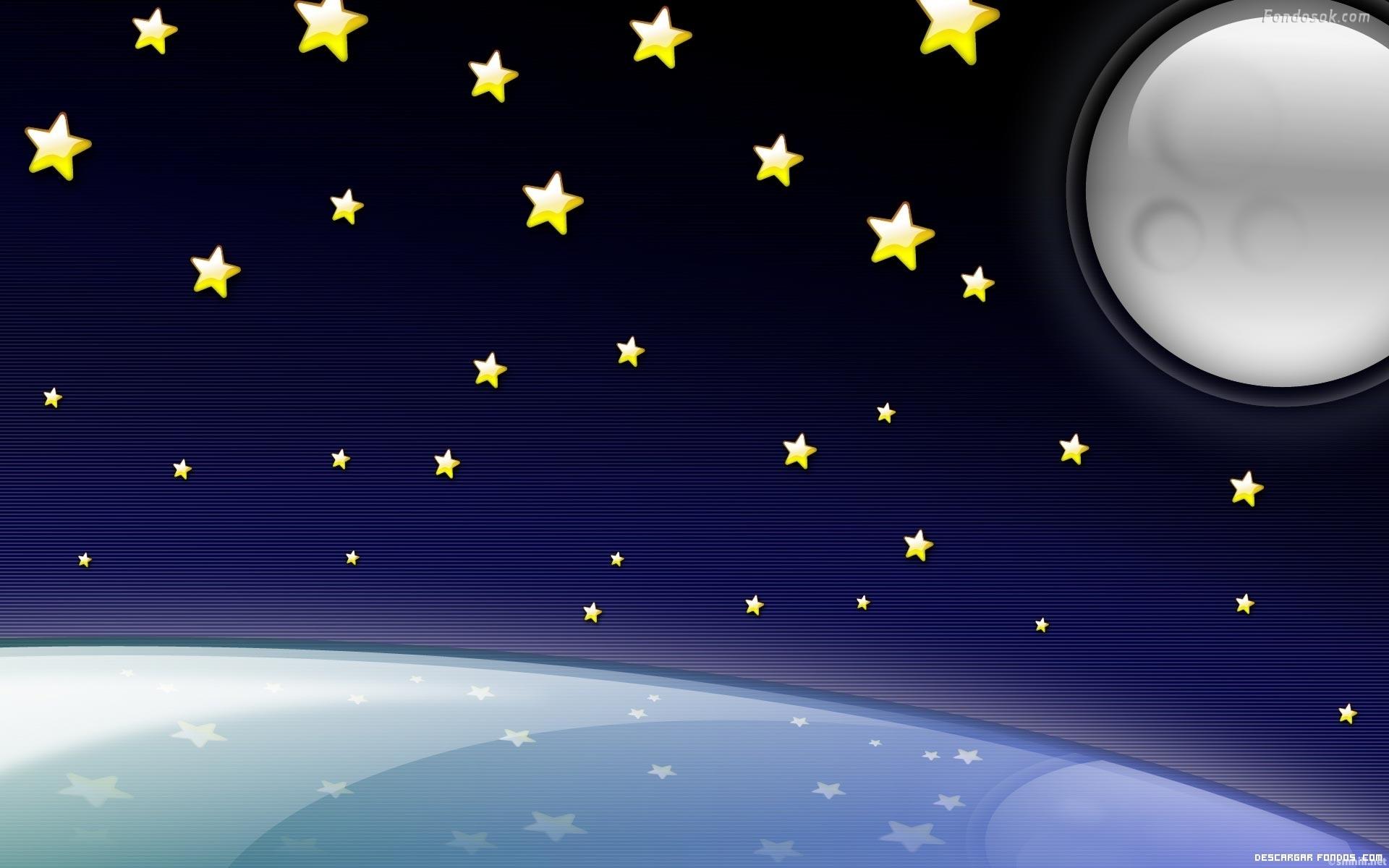 Un cielo estrellado