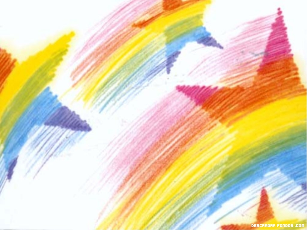 Una estrella de colores