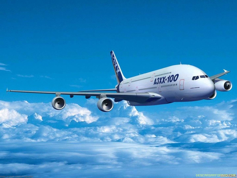 Avión en 3D