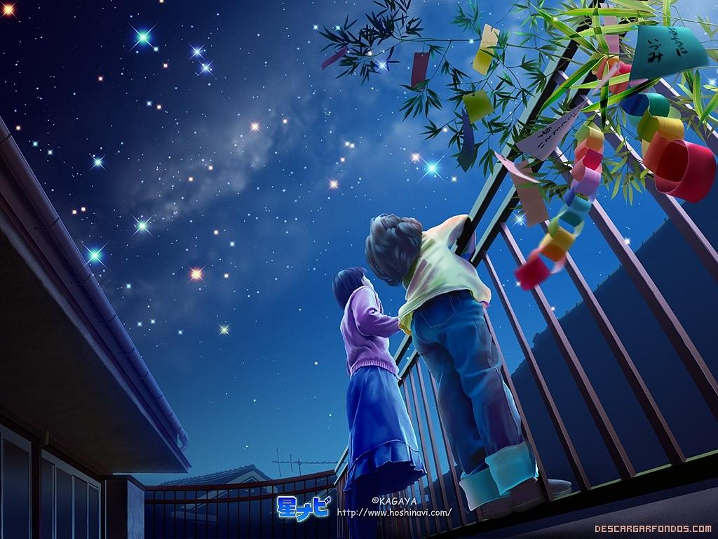 Contemplando las estrellas