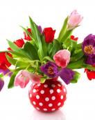 Adorno de Tulipanes