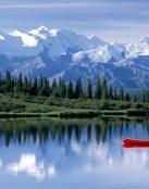 Disfrutando de la tranquilidad del lago