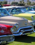 Exhibición de coches antiguos