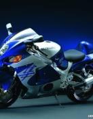 Fondo de motocicleta azul