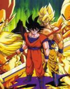 Goku y sus amigos