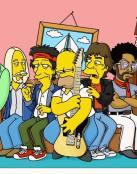 Homero y Los Rolling Stones