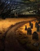 La calle del cementerio