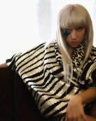 Lady Gaga luciéndose