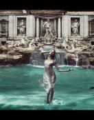 Luciéndose en Roma