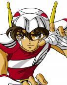 Seiya de Pegaso, listo para luchar