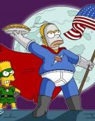 Homero superhéroe