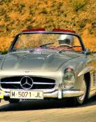 Un clásico Mercedez Benz