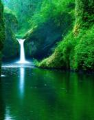 Una magnífica cascada