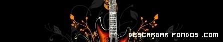 Fondo de guitarra