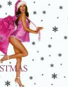 Alessandra Ambrosio vestida de Papá Noël
