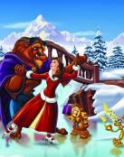 Bella y Bestia en Navidad