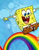 Bob Esponja y el arcoiris