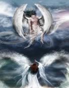 Pareja de ángeles