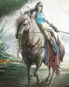 La guerrera del caballo blanco