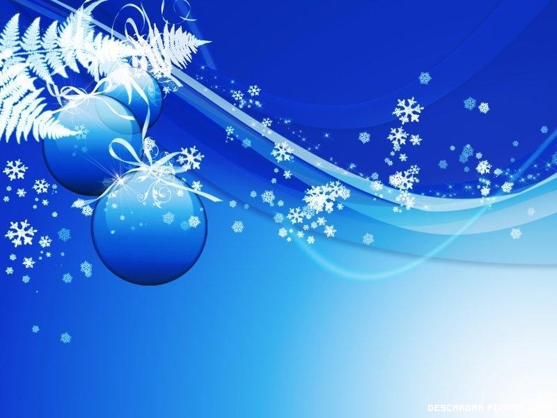 Azul de navidad